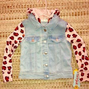 BRAND NEW girls Jean jacket
